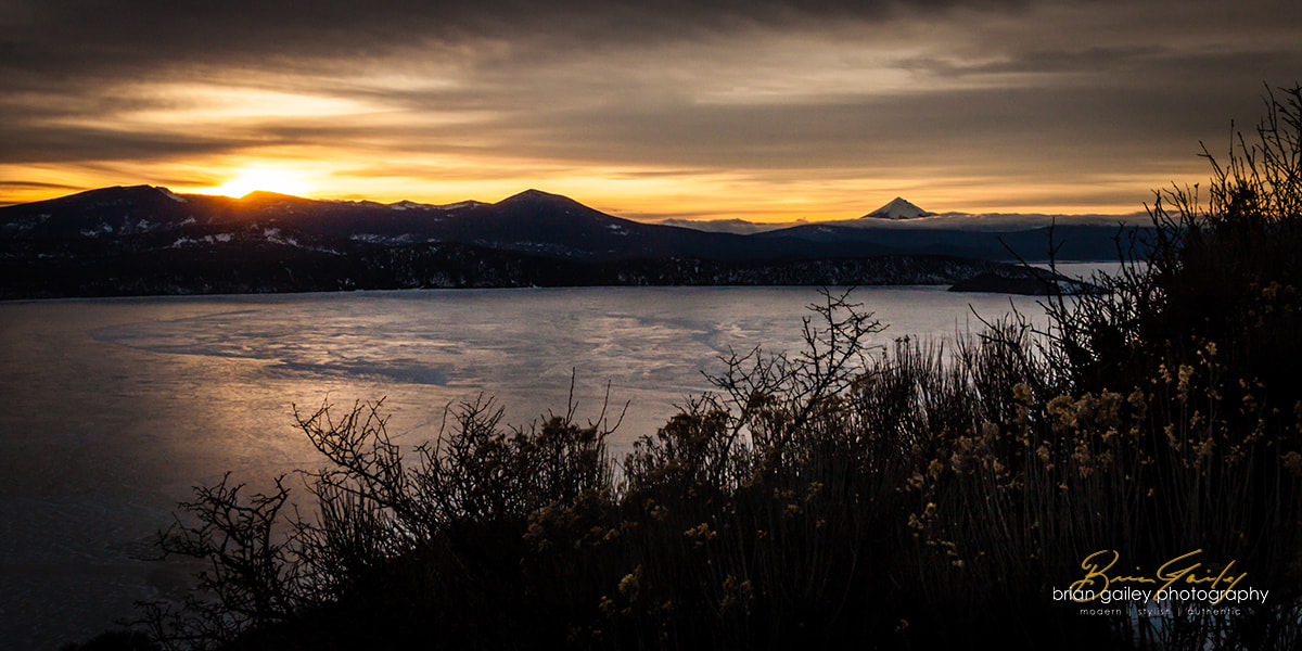 Photograph Klamath Lake Sunset by Brian Gailey on 500px