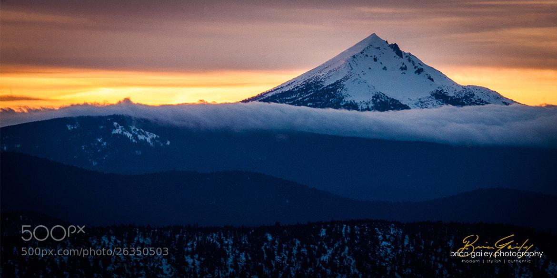 Photograph Mt. McLaughlin Cloud Bank by Brian Gailey on 500px