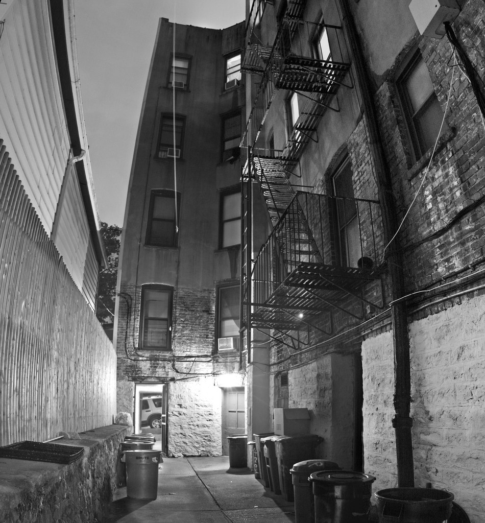 Photograph The Alley by Liam Moroney on 500px