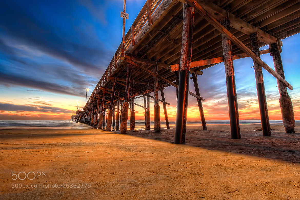 Photograph Newport Beach Pier Series - 3 by Douglas Choi on 500px