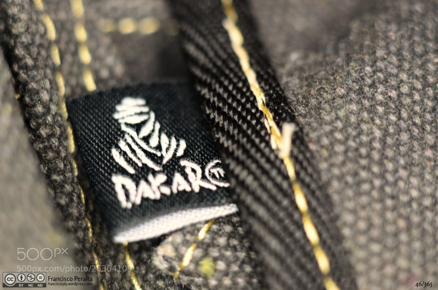 Photograph My Dakar bag by Francisco Peralta on 500px