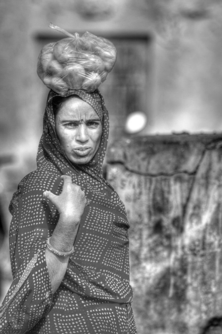 Photograph B&W. India. Portrait by Claudia Gadea on 500px