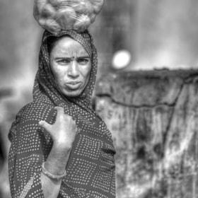 B&W. India. Portrait by Claudia Gadea (gadeaclaudia)) on 500px.com