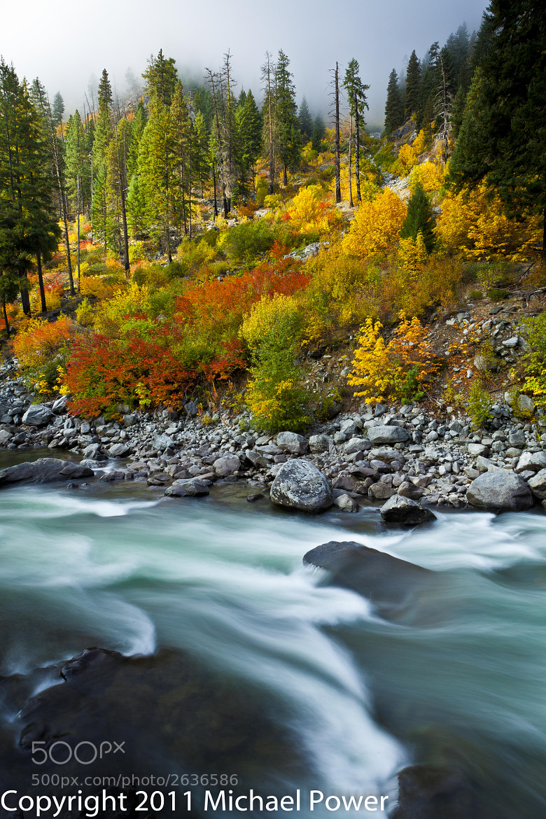 Photograph Tumwater Canyon Color by Michael Power on 500px