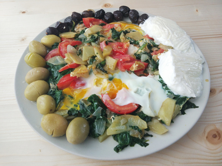 Spinach With Egg by siyahdeniz on 500px.com