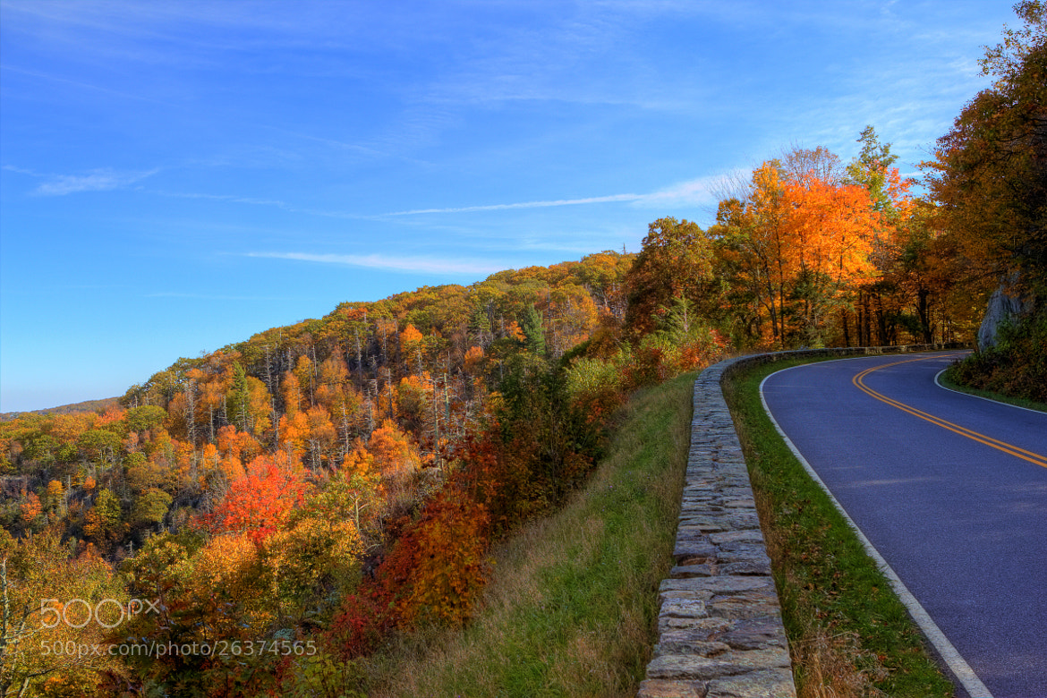 Photograph Shenandoah National Park: Autumn Fire by Andrew Rhodes on 500px