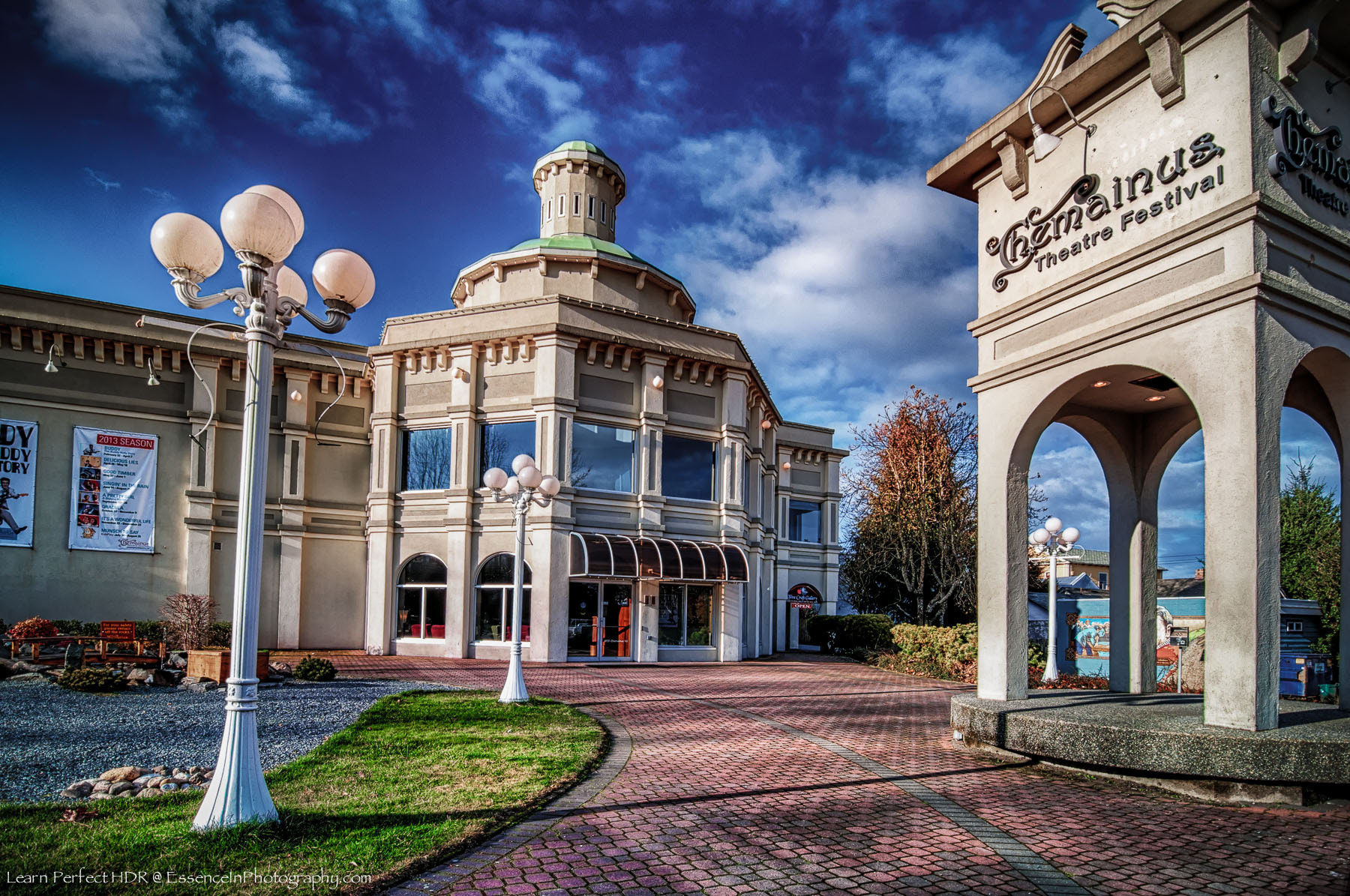 Photograph Chemainus Theater, B.C. Canada by Captain Photo on 500px