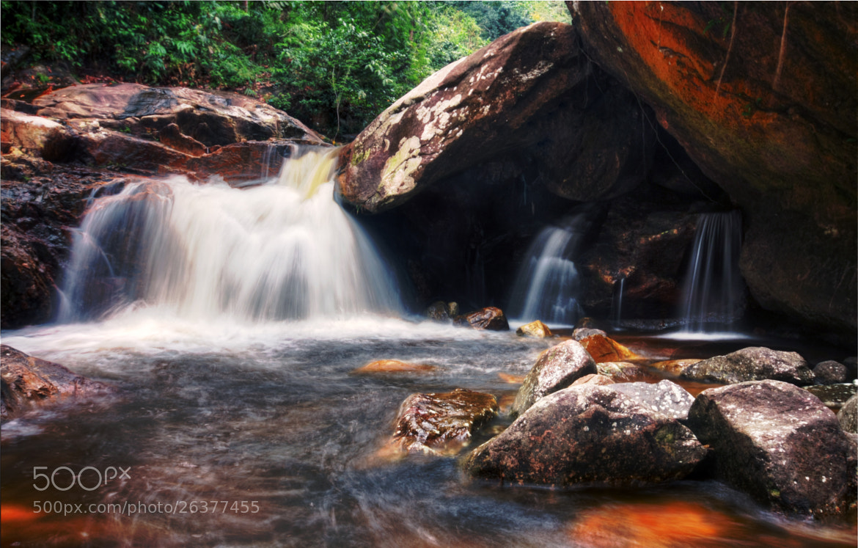 Photograph Gunung Stong Waterfall #2 by Qallam Ahmad on 500px