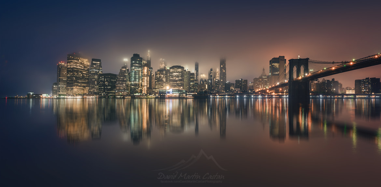 Fog in Manhattan