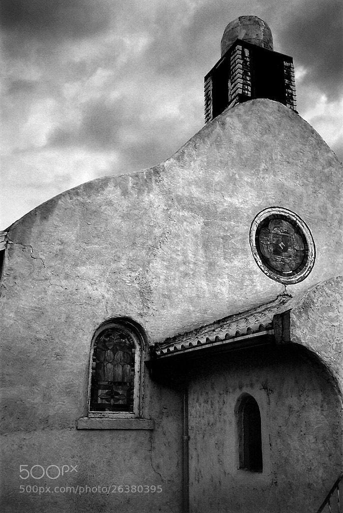 Photograph adobe church by Mister Mark  on 500px