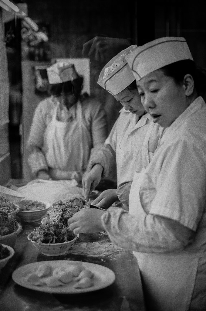 Photograph FILM: The Dumpling Ladies by T. Hicks on 500px