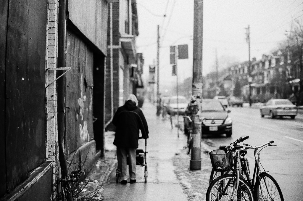 Photograph FILM: The rainy walk home. by T. Hicks on 500px