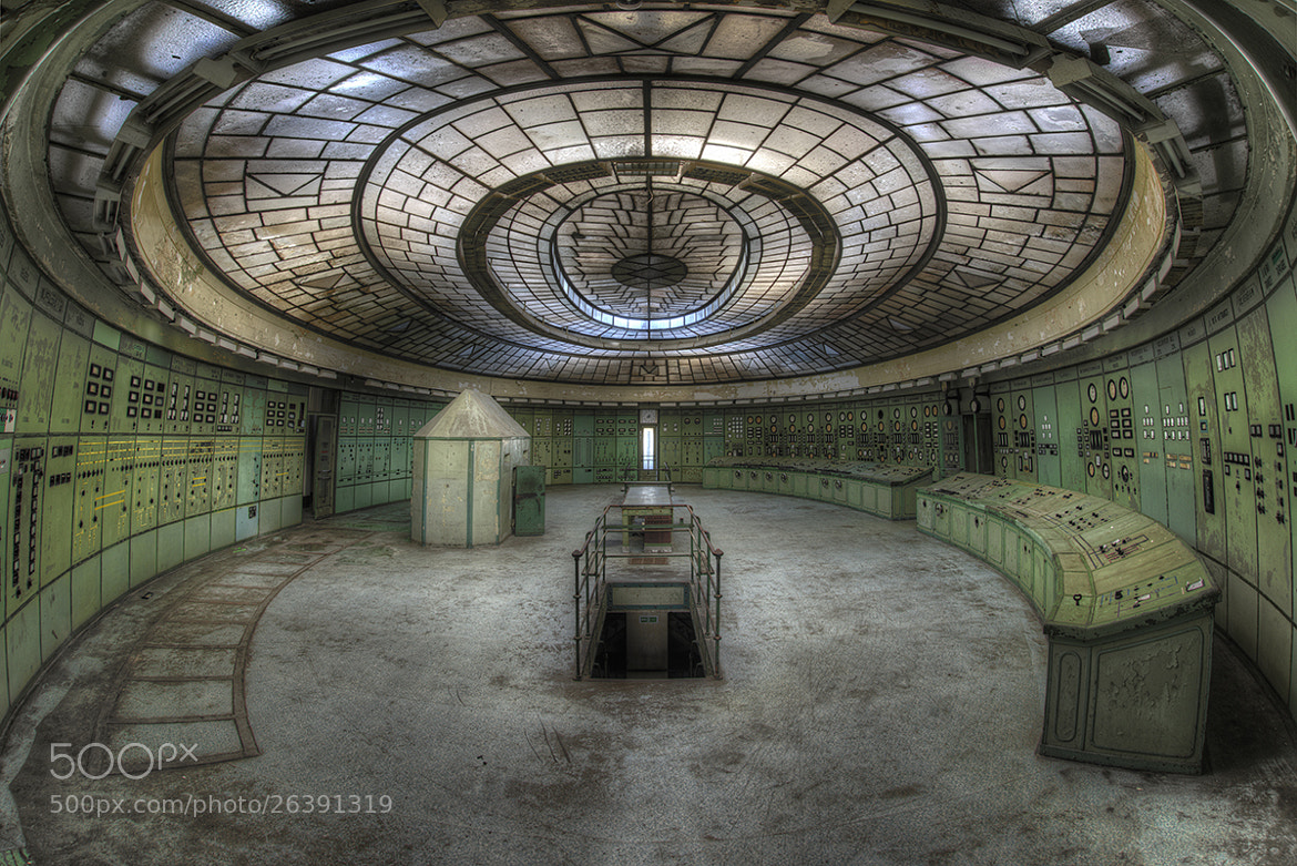 Photograph UFO Control Room by Niki Feijen on 500px