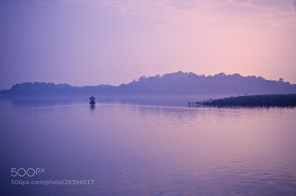Photograph West Lake - That Dawn by Wilson Li on 500px