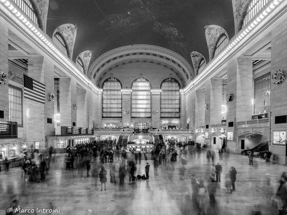 Photograph Central Station - NYC by Marco Introini on 500px