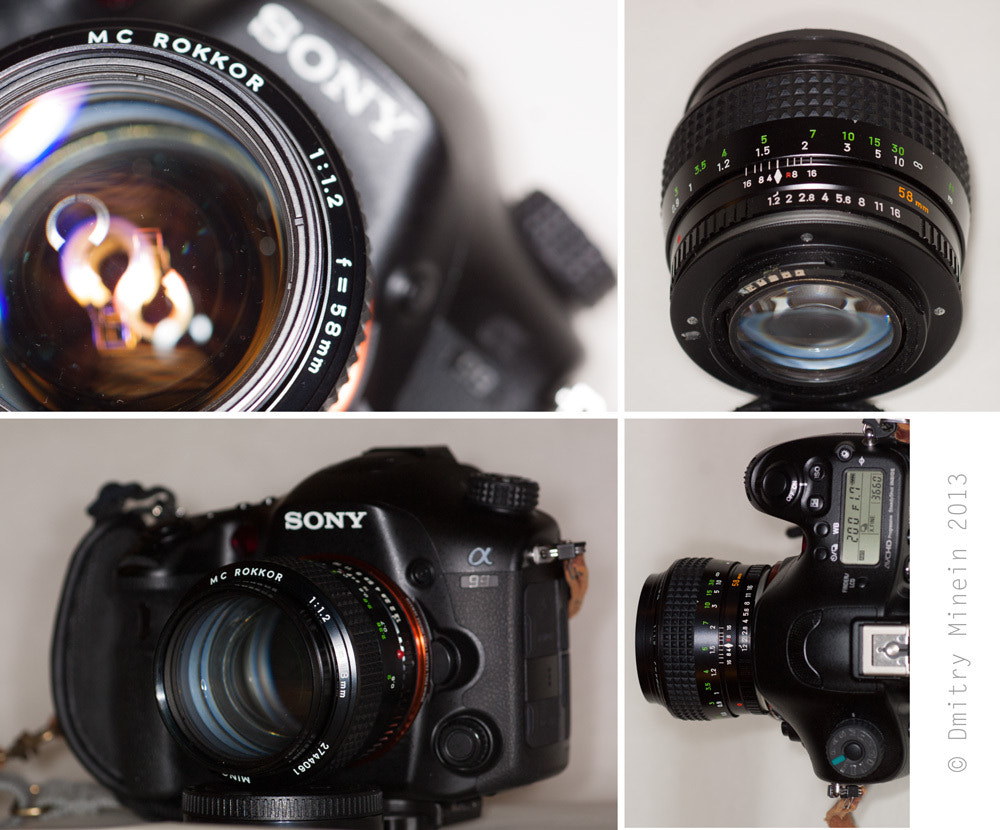 Photograph Rokkor 58/1.2 on Sony  by Dmitry Minein on 500px