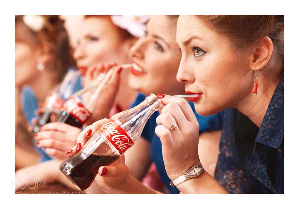 Photograph Coca Cola girls by Павел Рыженков on 500px