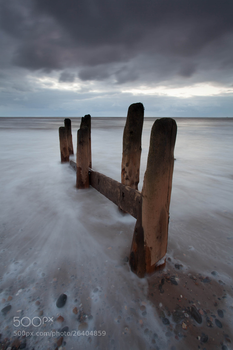 Photograph Spurn Point Groynes by Carl Mickleburgh on 500px