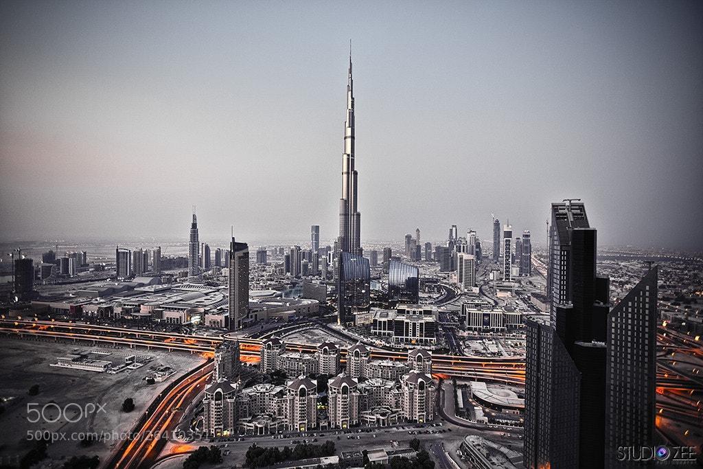 Photograph Burj Khalifa, Dubai by Marko Zirdum on 500px