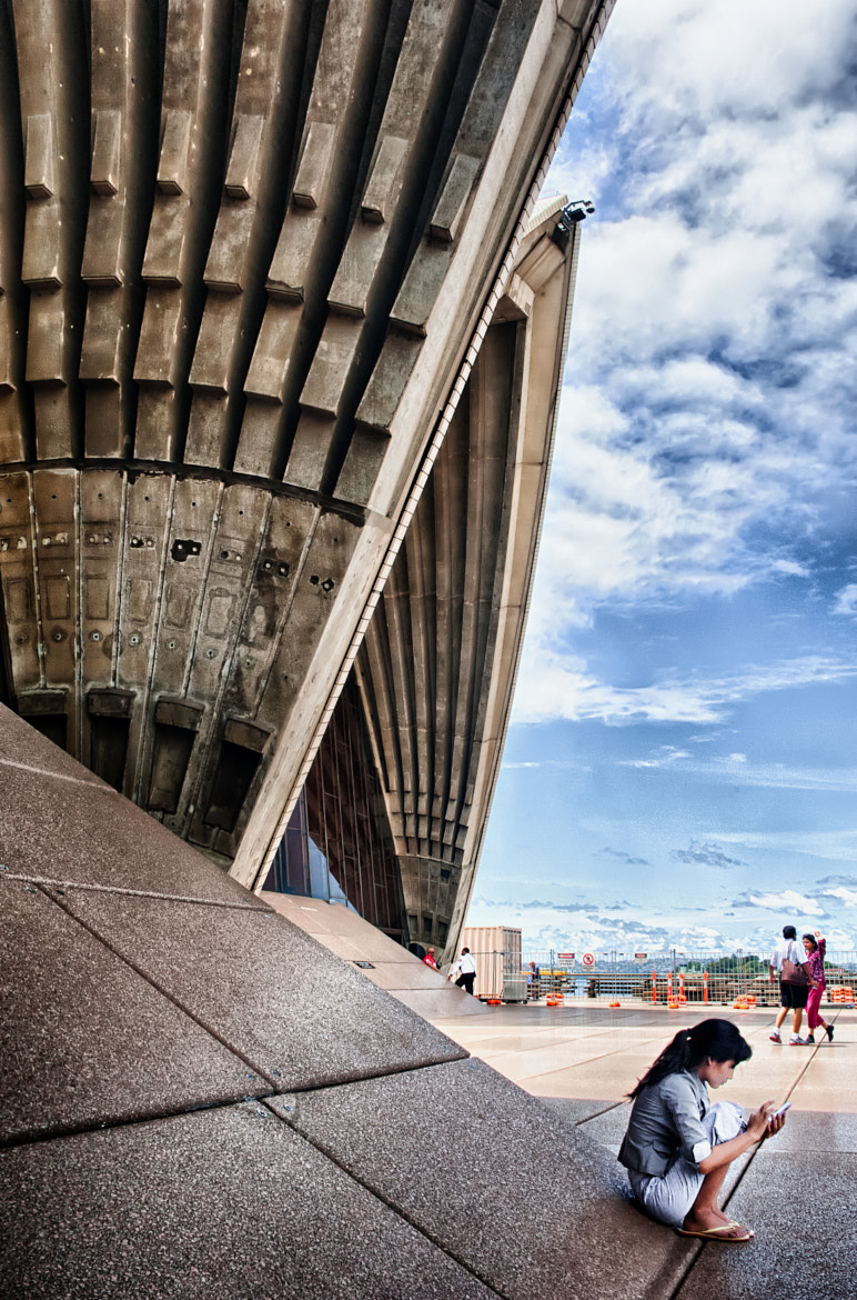 Photograph In the Shaddow of the Sydney Opera House by Tom Coyner on 500px