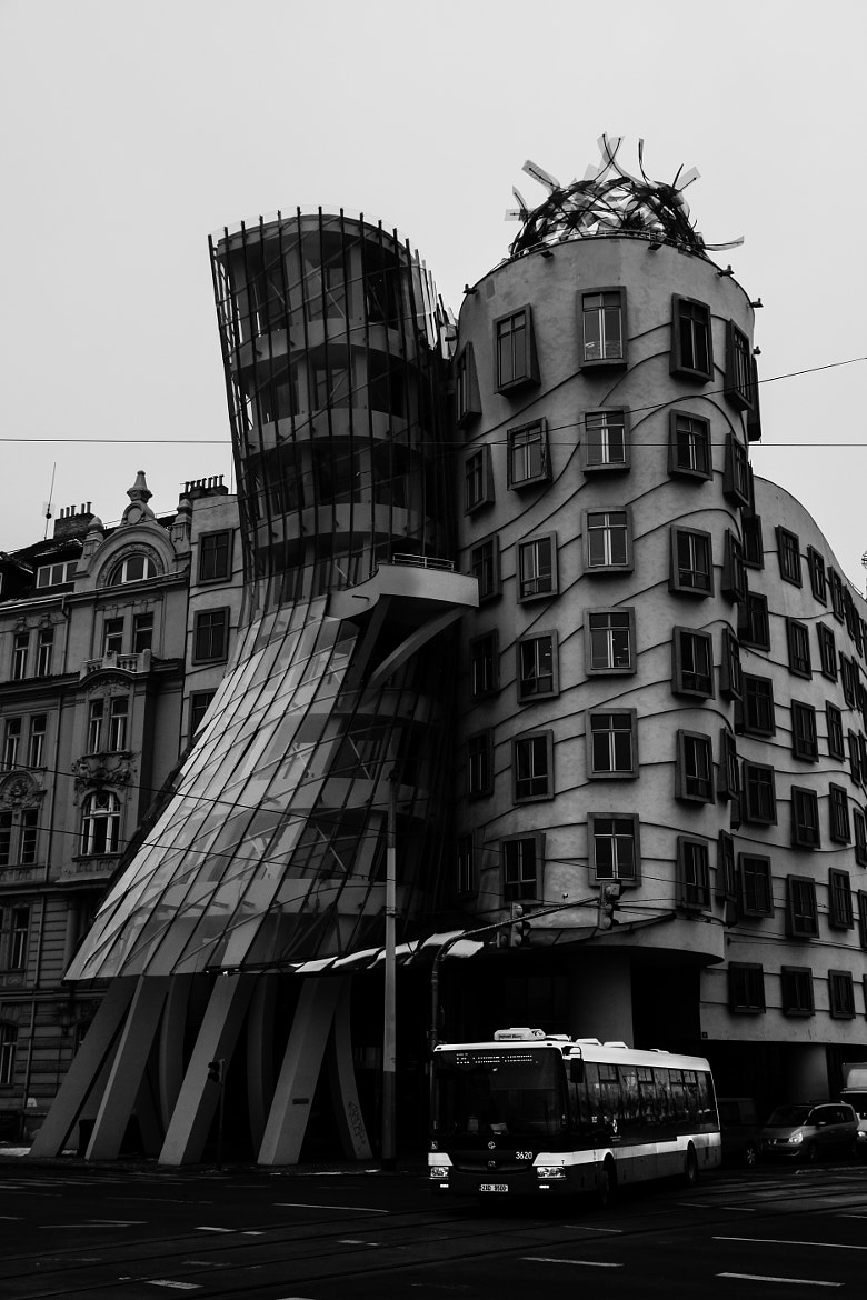 Photograph Dancing house by Andrew Trunov on 500px