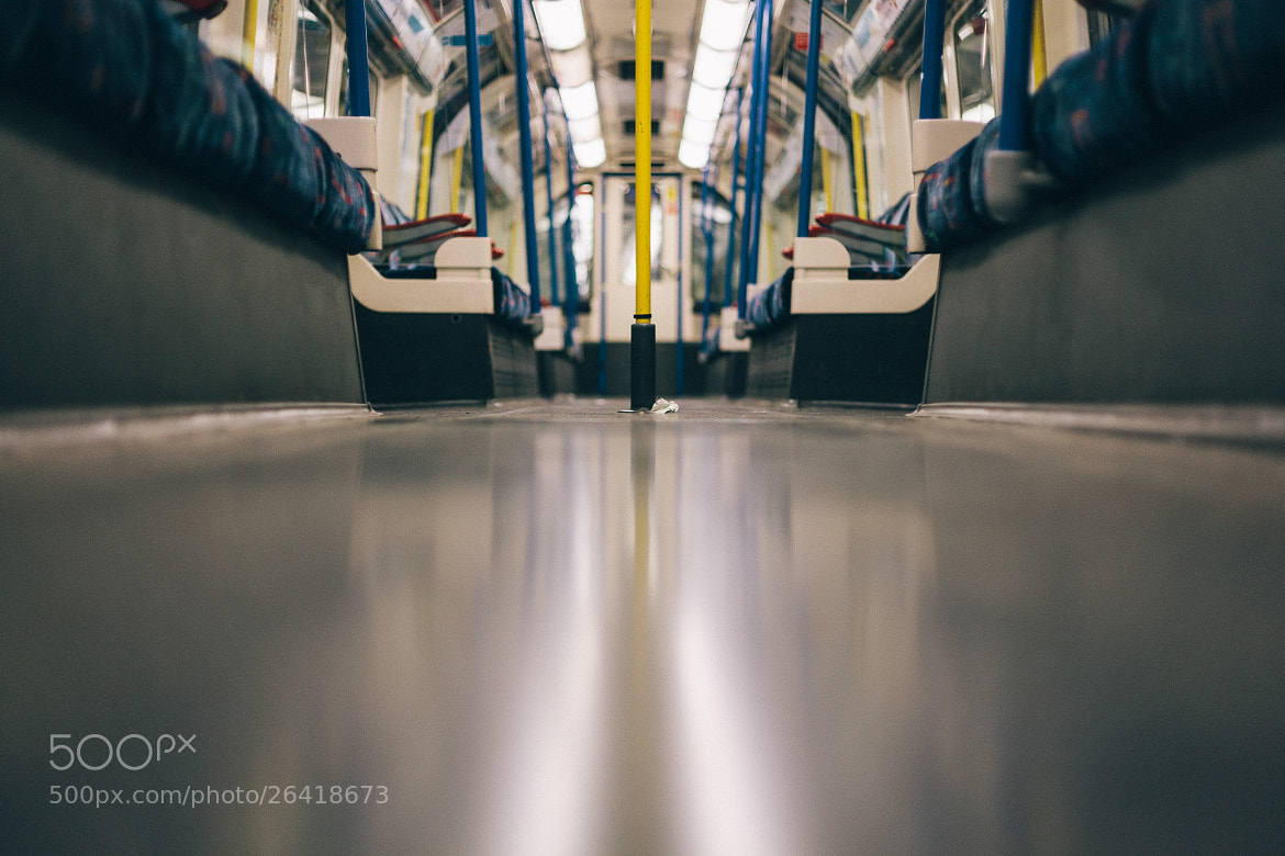 Photograph Tube Carriage by Sam Burton on 500px