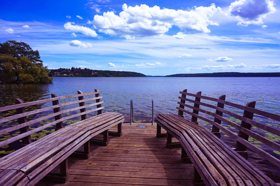 Lonely Pier in Sigtuna, автор — Levent Yucelman на 500px.com