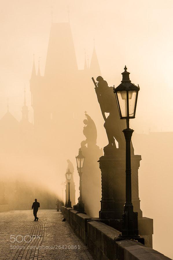 Photograph Morning on Karls Bridge by Hans Kruse on 500px