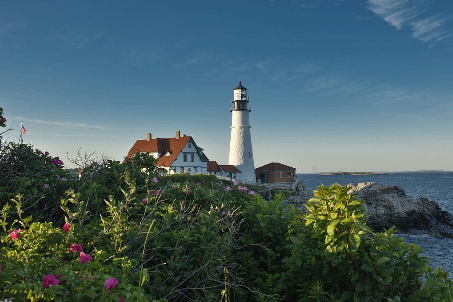 portland head lighthouse, автор — Mark Bowen на 500px.com