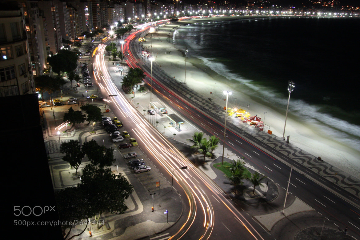 Photograph Rio de Janeiro  - Copacabana by night by Harald van der Winden on 500px