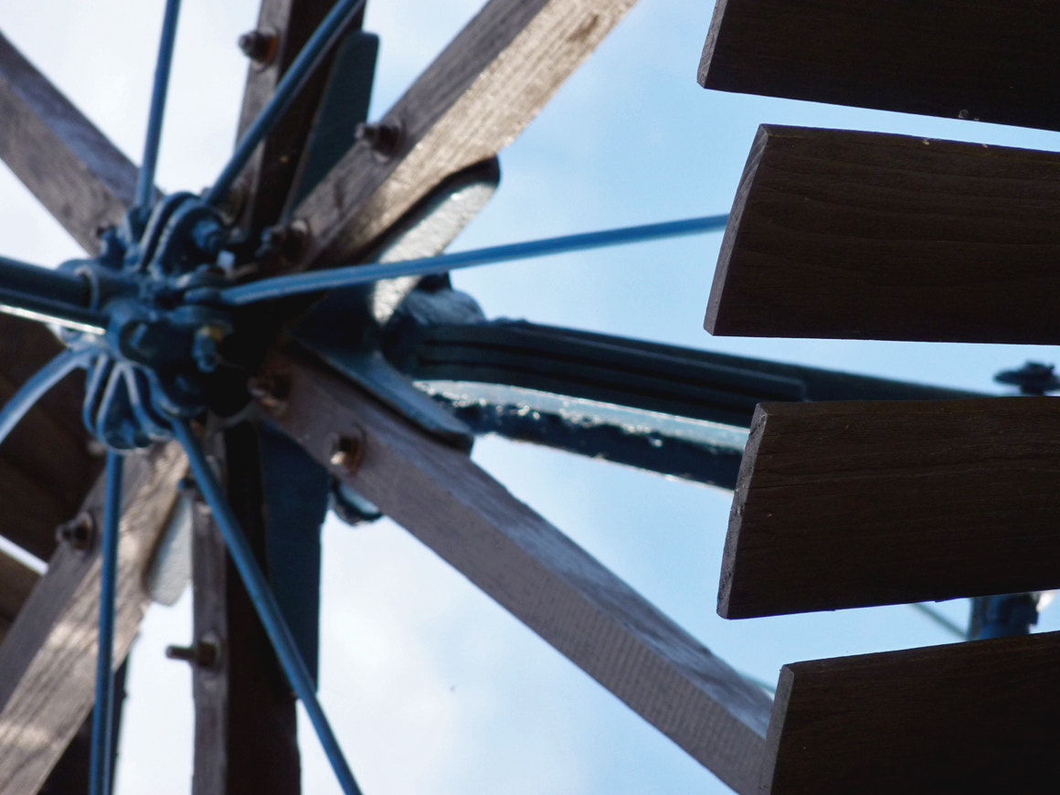 Photograph WINDMILL DETAIL by Elizabeth Tool on 500px