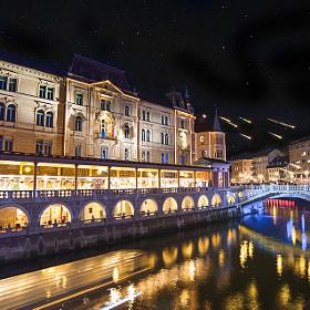 Ljubljana by Andraž Martinšek (Andrazz)) on 500px.com