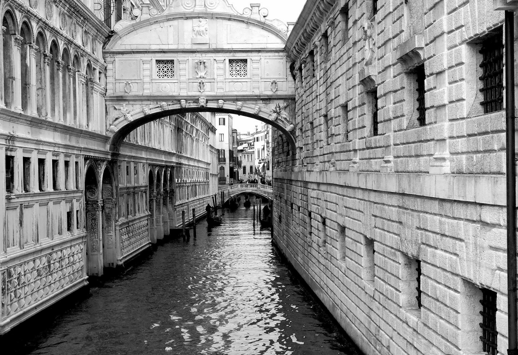 Photograph Venice Street Back and White  by Bob Riach on 500px