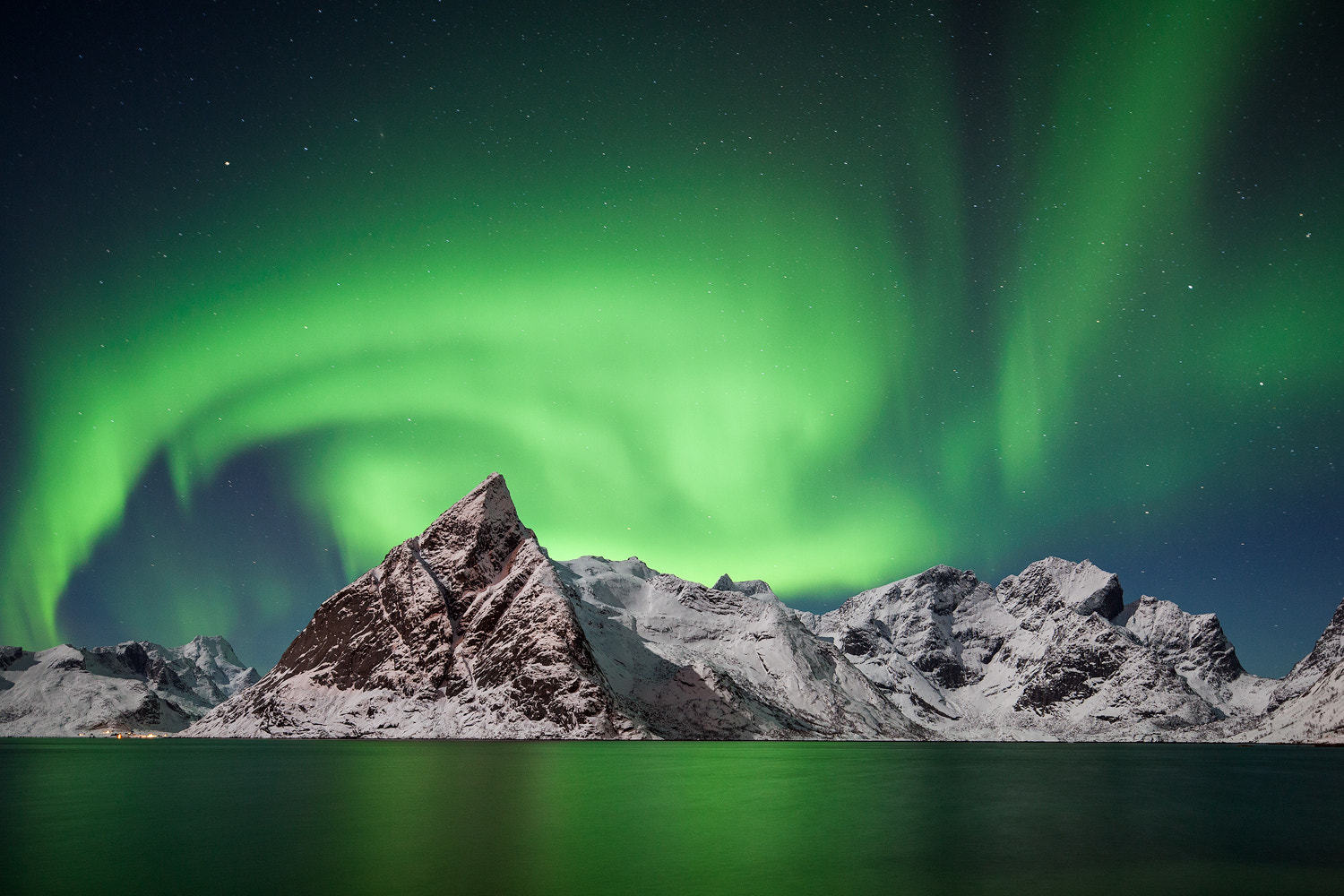 Photograph Aurora Borealis by Magnus Lindbom on 500px