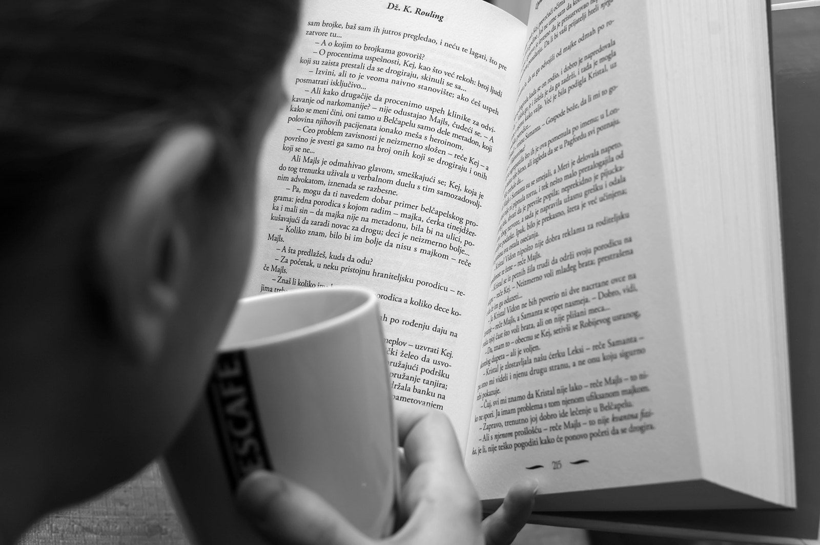 Photograph Coffee and a good book by Yane Naumoski on 500px