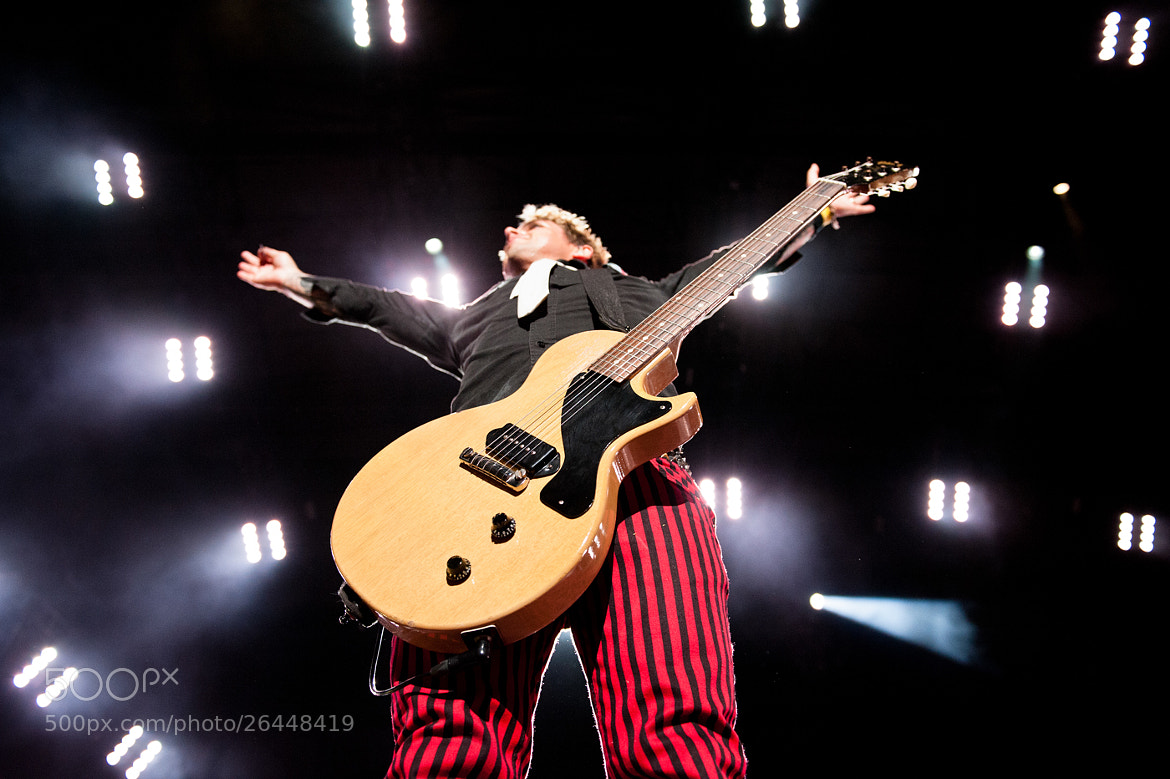 Photograph Billie Jo Armstrong : Green Day by Paul R.  Giunta on 500px