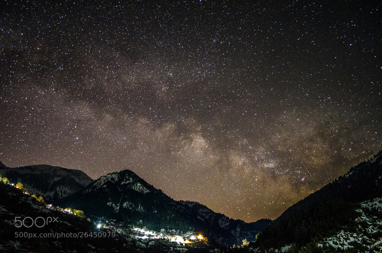 Photograph Ο γαλαξίας. The milky way. by KONSTANTINOS BASILAKAKOS on 500px