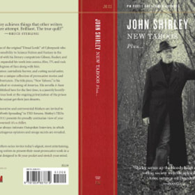 cover photo I took for john shirley new book....