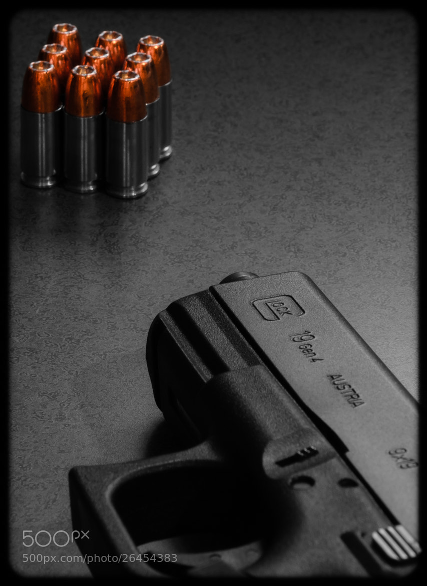 Photograph Glock 19 by Brian Speight on 500px