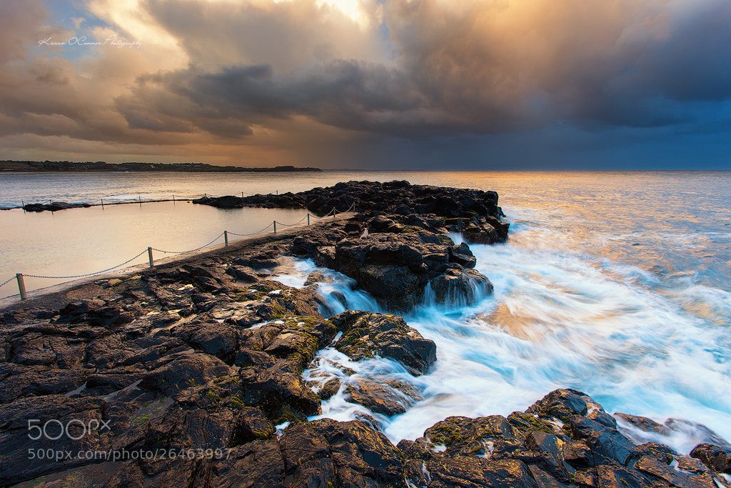 Photograph Storm pool by Kieran O'Connor on 500px