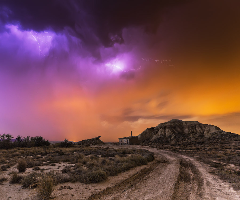 Photograph Bardenas Storm by Martin Zalba on 500px