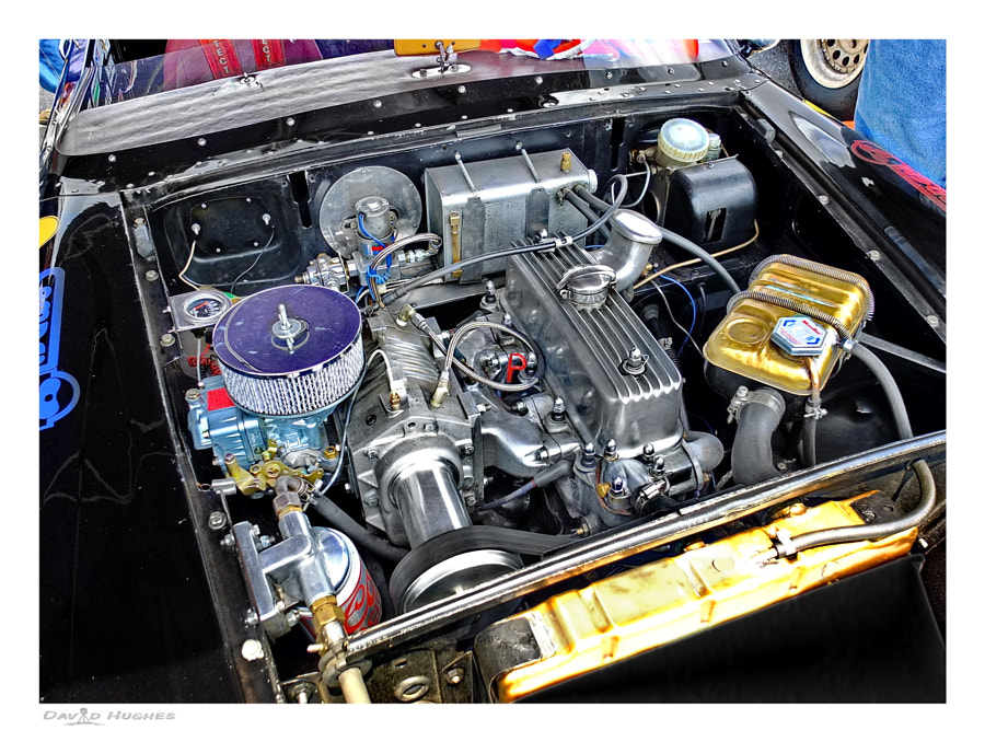 Supercharged MGB Racer