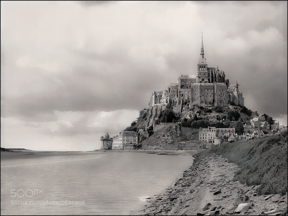 Photograph Mont Saint-Michel by Alla  Lora on 500px