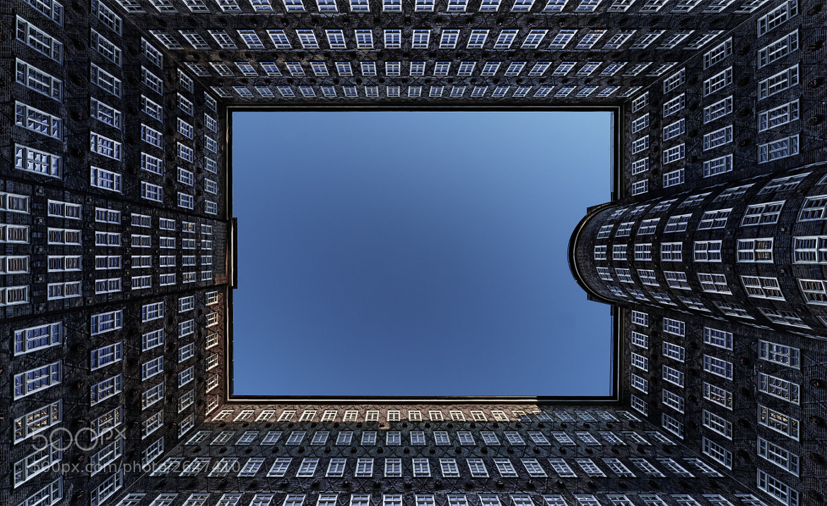 Photograph Looking Up | Sprinkenhof, Hamburg by Dr. Martin Zeile on 500px