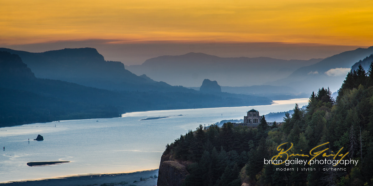Photograph Vista House | Columbia River, OR by Brian Gailey on 500px