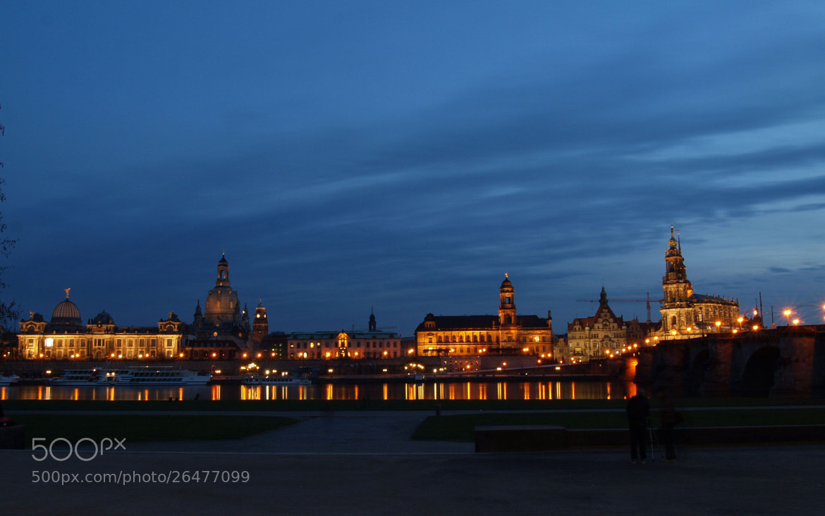 Photograph Dresden at night by Grit Ende on 500px