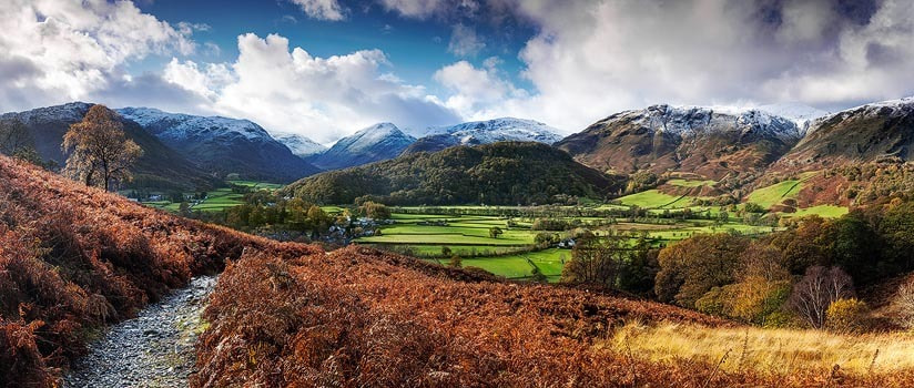 Photograph Borrowdale, Lake District, cumbria by Alexander Hare on 500px