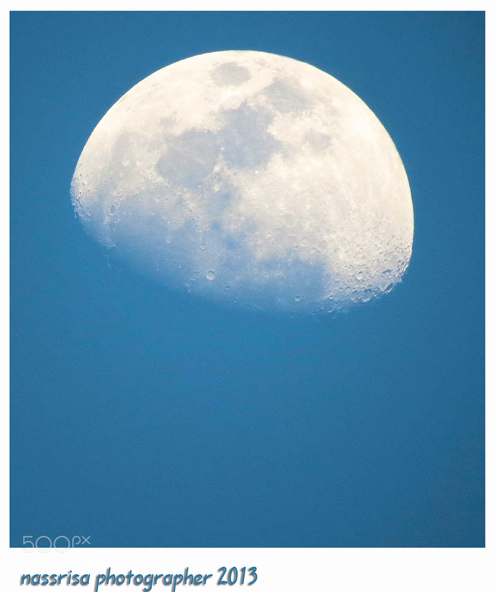 Photograph The moon by Saeed Nassri on 500px