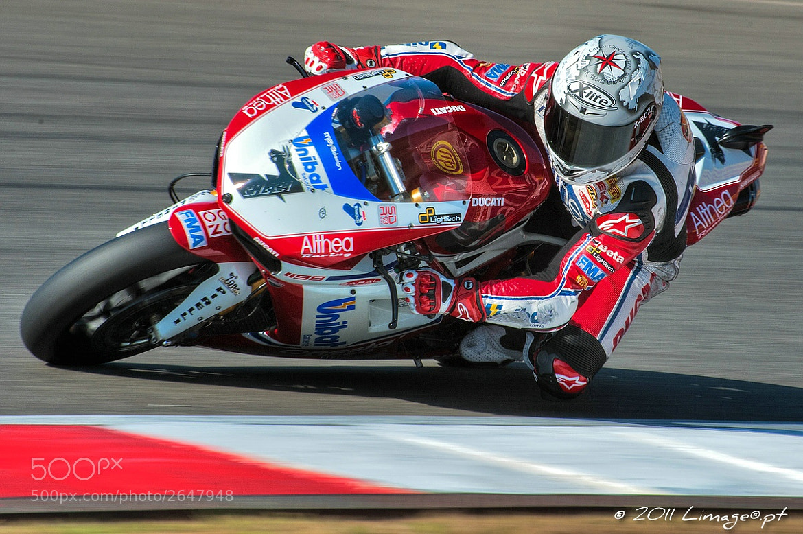 Photograph Carlos Checa 2011 SBK Champion by Nic Franco on 500px