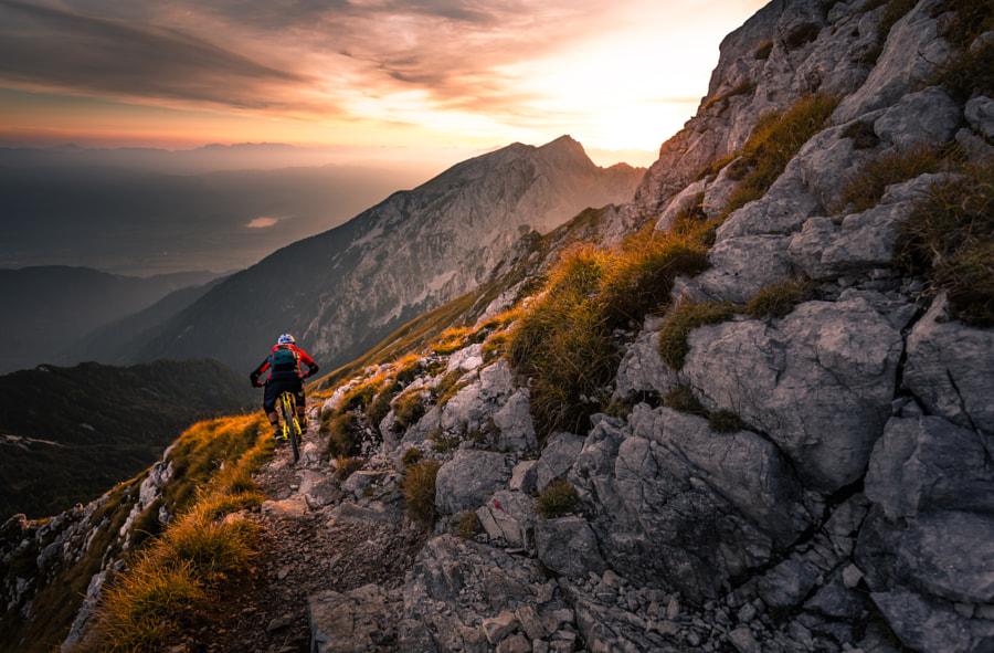 Sunset high alpine ride by Sandi Bertoncelj on 500px.com